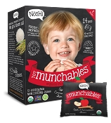 Nosh Tot Munchables Organic Rice Snacks - 12 Pack