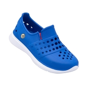 Joybees Kids Splash Sneaker - Sport Blue/White