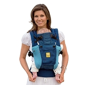 * LILLEbaby COMPLETE Airflow Baby Carrier - Aqua Blue