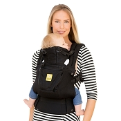 * LILLEbaby COMPLETE Airflow Baby Carrier - Black