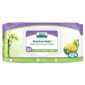*Aleva Naturals Bamboo Baby Wipes - 80 Pack