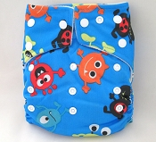 KaWaii Goodnight Heavy Wetter One-Size Cloth Diaper