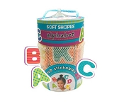 *Innovative Kids Soft Shapes Tub Stickables - Alphabet