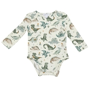 Angel Dear Lap Shoulder Bodysuit - Crayon Dinos