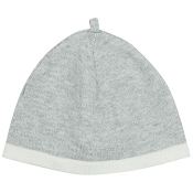 Angel Dear Euro Knit Beanie - Grey (Size 0-3 Months)