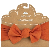 Angel Dear Solid Basics Headband - Rust