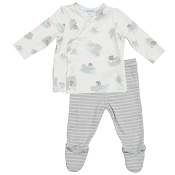 Angel Dear Take Me Home Set - Hippo Grey