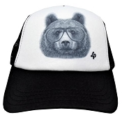 L&P Trucker Style Hat - Bear