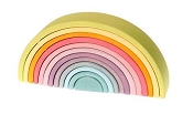*Grimm's Large Pastel Tunnel (12 Pieces)