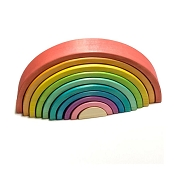 *AW + Co Large 10 Piece Naturally Dyed Rainbow Stacker