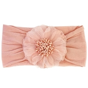 *Baby Wisp Nylon Evelyn Flower Headband
