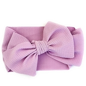 *Baby Wisp Lana Large Bow Headband - Extra Wide Headwrap