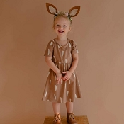 Little & Lively Daphne Dress - Bambi