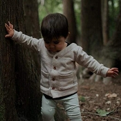 Little & Lively Cardigan - Tan *CLEARANCE* (6-12 Months)