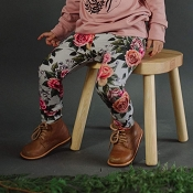 Little & Lively Leggings - Antique Floral