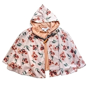 Bailey's Blossoms Reese Poncho - Sahara Floral