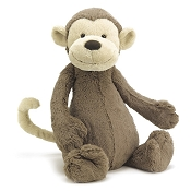*Jellycat Bashful Monkey - Medium 12