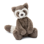 *JellyCat Bashful Raccoon - Medium 12