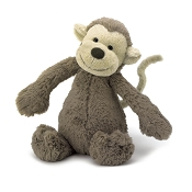 *JellyCat Bashful Monkey - Small