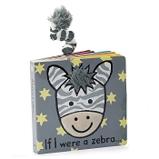 *Jellycat If I Were a Zebra