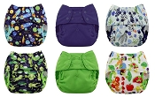 Blueberry Capri Diaper Cover 6-Pack