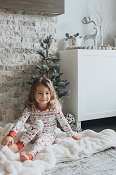 Bambi & Birdie Bamboo Classic Thermal Long Pajama Set (Fall/Winter 2017 Collection)