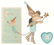 *Maileg Tooth Fairy, Big Brother Mouse w/ Metal Tin