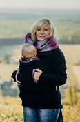 *LennyLamb Fleece Babywearing Sweatshirt - NEW Version 2.0