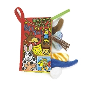 *Jellycat Soft Activity Book - Pet Tails