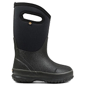 Bogs Classic Handles Kid's Winter Boots - Black