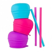 *Boon Snug Straws with Lids