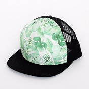 Hey Baby! Trucker Hat - Tropical Jungle