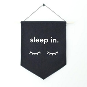 *Little & Lively Canvas Banner - Sleep In