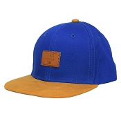 L&P Snapback Cap - Brooklyn Indigo/Gold