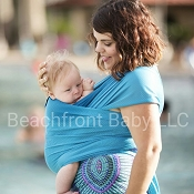 *Beachfront Baby One-Size Wrap