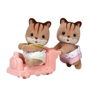 *Calico Critters Hazelnut Chipmunk Twins