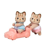 *Calico Critters Sandy Cat Twins