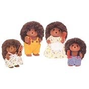 *Calico Critters Pickleweed Hedgehog Family