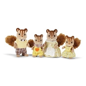 *Calico Critters Hazelnut Chipmunk Family