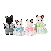 *Calico Critters Tuxedo Cat Family