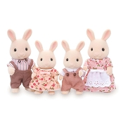 *Calico Critters Sweetpea Rabbit Family
