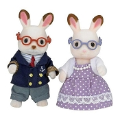 *Calico Critters Hopscotch Rabbit Grandparents
