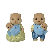 *Calico Critters Splashy Otter Family