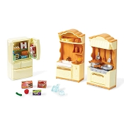 *Calico Critters Kitchen Play Set