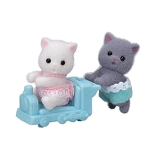 *Calico Critters Persian Cat Twins