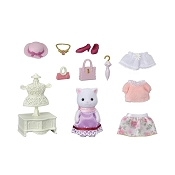 *Calico Critters Fashion Play Set Town Girl Series - Persian Cat