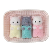 *Calico Critters Persian Cat Triplets
