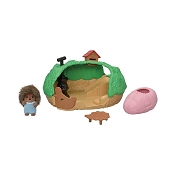 *Calico Critters Baby Hedgehog Hideout