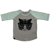 L&P Baseball Style Jersey - Angry Cat