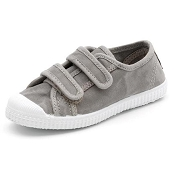 Cienta Shoes - Double Velcro Slip On Shoe (Grey)
